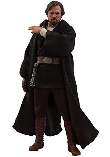 Hot Toys Figura Luke Skywalker 29 cm. Star Wars: Episodio VIII. Escala 1:6. con luz. Movie Masterpiece