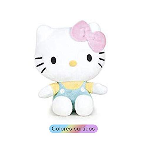 Hello Kitty Pleuche 15cm 4 MOD, Colore Assortiti, 760016573