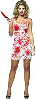halloween costume blood splatter
