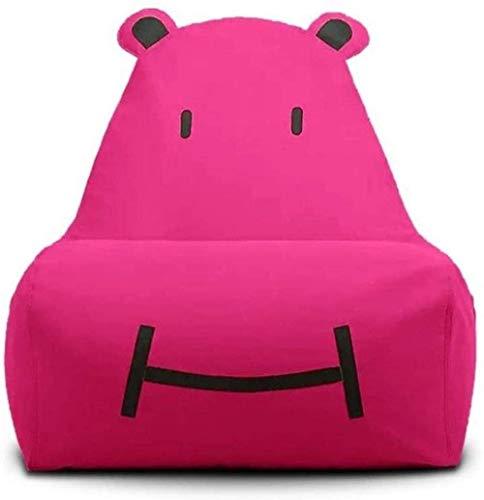 LuoMei Confortevole Beanbag Formato Adulto Semplice Beanbag Divano Divano Pigro Bean Bag Simpatico Divano Familiare Gratuito Invia Pennello AppiccicosoRosa