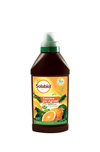 Solabiol Concime Liquido Biologico per agrumi con Alghe Brune, 500 ml