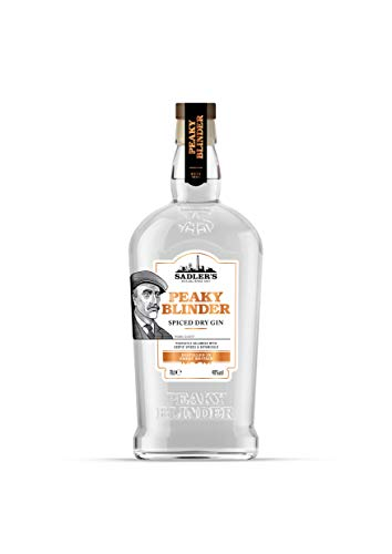 Sadler's Peaky Blinder Spiced Dry Gin, 70 cl - Packaging may vary