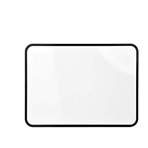S SIENOC Mini 29x21cm Borrador en seco pequeño Pizarra en blanco Pizarra magnética portátil de doble cara...