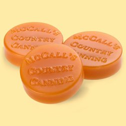 McCall's Country Candles Wax Potpourri Button Set of 6 - Banana Nut Bread