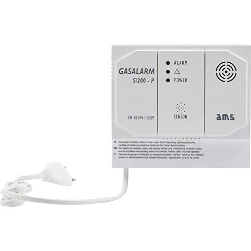 Gasmelder Gasalarm S/200-P mit zusätzlichen Schaltausgang