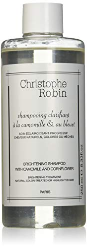 Christophe Robin Brightening Shampoo with Camomille and Cornflower, 250 ml
