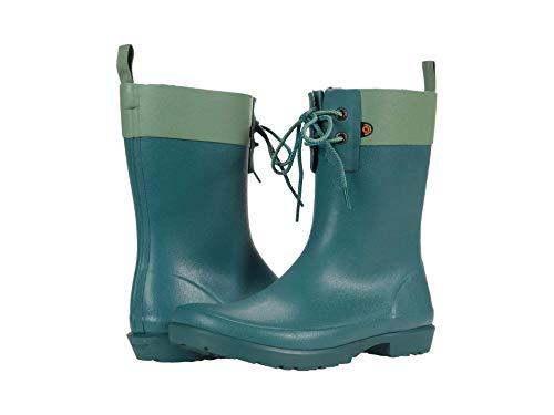 BOGS Women's Flora 2 Eye Boot Rain, Jade, 6 UK