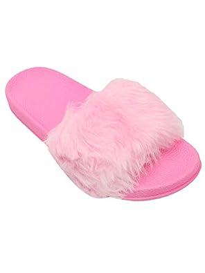 FREECO Women's Fur Slippers