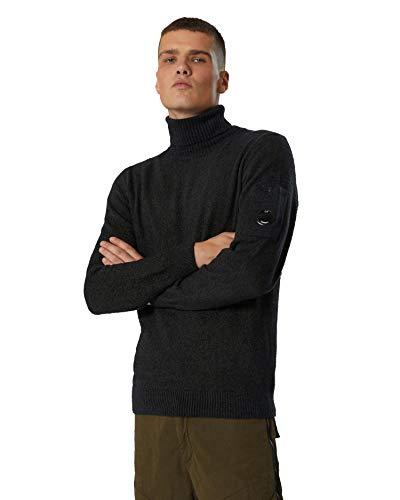 C.P.Company - Maglia Casual con Collo Arrotolato per Uomo, Calda e Confortevole, Ideale per l'inverno IT 52