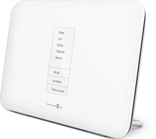 Deutsche Telekom Speedport W724V Typ A Router (Dual-WLAN mit 2,4 und 5 GHz parallel, WEP, WPA und WPA2 Verschlüsselung) weiß