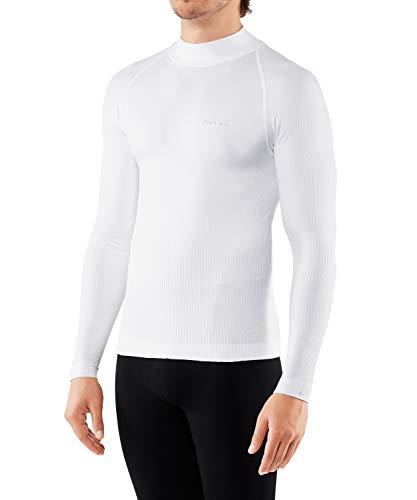 FALKE Herren, Langarmshirt SK Impulse Funktionsfaser, 1 er Pack, Weiß (White 2860), Größe: M