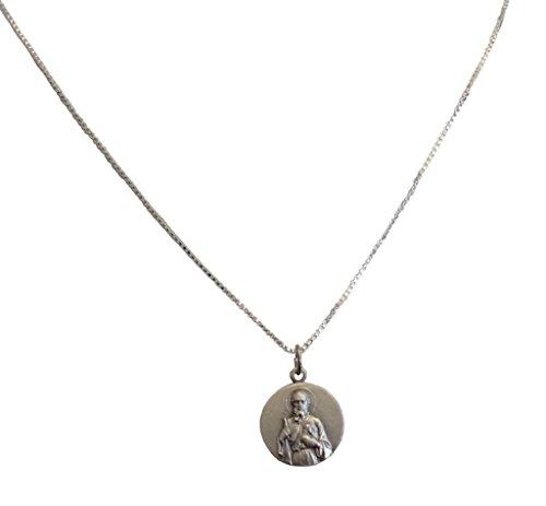 Medaille Der heilige Judas Thaddeus der Apostelmit Venezianierkette -Die Medaillen der Schutzheiligen