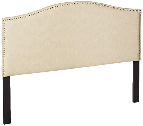 Pulaski Selma Camel Back Tweed Panel Headboard, King / Cal King