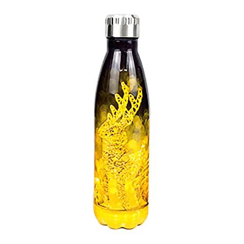 Botella de Agua de Acero Inoxidable de 500 ml Frascos de vacío de Doble Pared con Aislamiento Botella de Bebidas Mantener 12 Horas Caliente y 24 Horas frío - 8