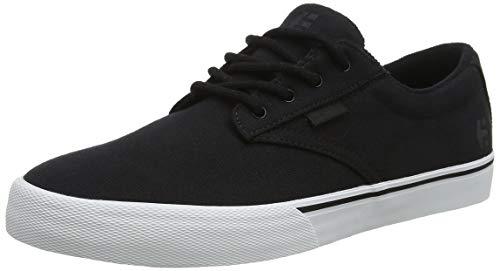 Etnies Jameson Vulc, Zapatillas de Skateboard Unisex Adulto, Negro (019/Blacktop Wash 019), 37 EU