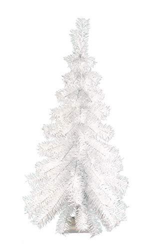 3ft. White Hanging Wall Half Christmas Tree