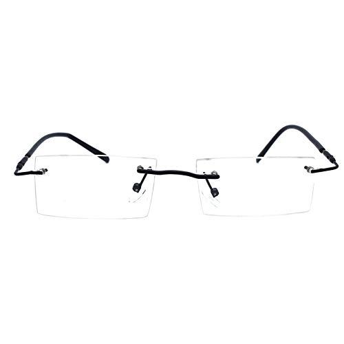 Gen Titanium Flexible Eye wear Frame For Men Women Optical Rimless Frame