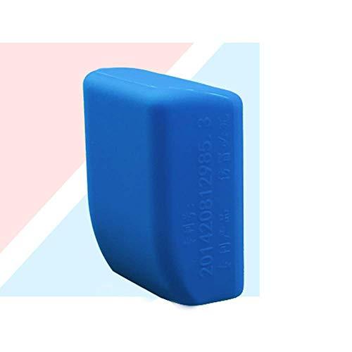Housse de protection en gel de silice anti-rayures pour ceinture de sécurité Noir