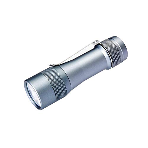 Lshbwsoif Linterna LED 3600lm Linterna LED 4000K/5000K/6500K 18650 Mini antorcha para interior y exterior (tamaño: tamaño libre; color: XPL HI6500K)