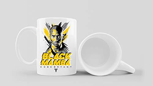 Los Eventos de la Tata. Taza para regalar a Fans de Kobe Bryant. Black Mamba