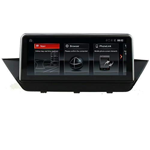TOPNAVI Android 6.0 Centre Multimedia pour BMW Série X E84 / E84 CIC 2009 2010 2011 2011 2013 2014 2014 2015 / F48 NBT 2016 2017 Navigation GPS Radio stéréo WiFi 3G RDS Lien de rétroviseur