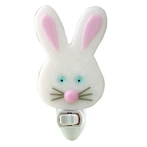Fused Glass Bunny Night Light