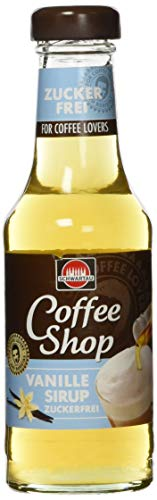 Schwartau Coffee Shop (Kaffeesirup) 200ml Vanille zuckerfrei, 1600 g