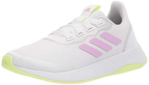 adidas,womens,QT Racer Sport,White/Lilac/Yellow,8
