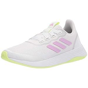 adidas,womens,QT Racer Sport,White/Lilac/Yellow,7