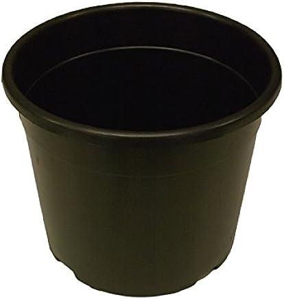 PACK of 10 - Plastic Plant Pots 15 Litre Heavy Duty Tree Pots Shrubs (a411)