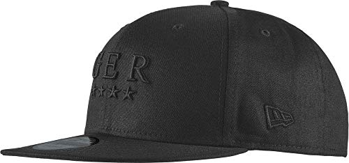New Era Herren Tonal Logo Germany Kappe, Black/Black, 53