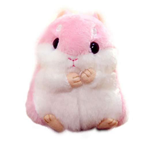 Netter Hamster Plüsch-schlüsselanhänger Plüschtiere Schlüsselanhänger Charme-handtaschen-anhänger