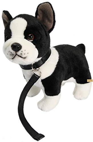 Zaloop Bulldogge französische Plüschtier Kuscheltier Stofftier Plüsch (Bulldogge 184)