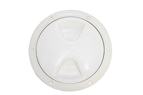 ARBO-INOX® Revisionsdeckel Inspektionsdeckel robuste Ausführung aus Polypropylen mit Dichtungsring Gr. 145-260 mm Farbe weiß, Größe 170mm