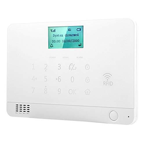 Alarma gsm con 100Db Altavoces de Alarma Externa 100 detectores 8 Controles...