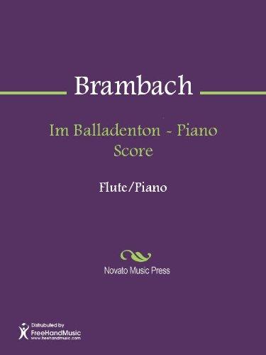 Im Balladenton - Piano Score (English Edition)