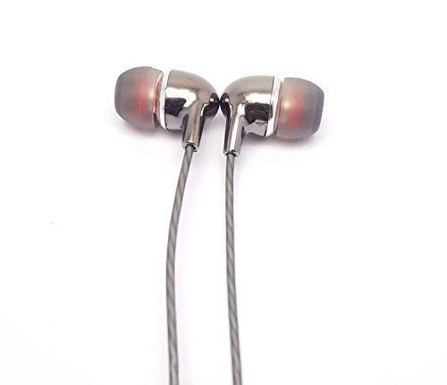 MJ KDM M8 Universal Handsfree HD Music Earphone (Grey Color)