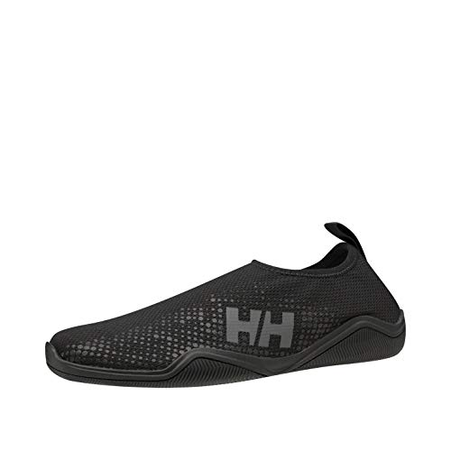 Helly Hansen Sailing and Watersport, Zapatillas Impermeables Mujer, Negro (Black/Charcoal), 42 EU