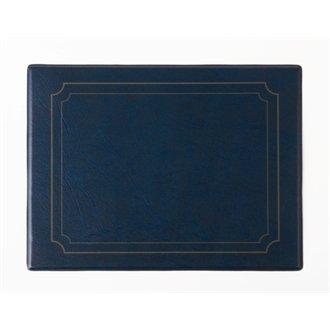 Nextday Traiteur E601 Set de table, PVC, 265 mm x 205 mm, Bleu (lot de 6)
