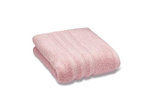Catherine Lansfield Zero Twist–Toalla de baño, algodón, rosa