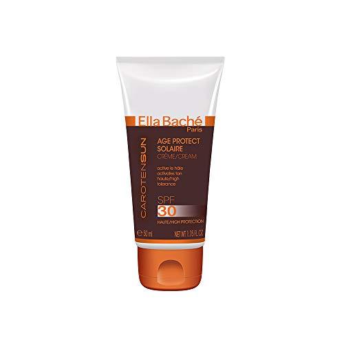 Age Protect Solaire SPF 30+ - Crème fluide visage et corps, très haute protection solaire UVA/UVB SPF 30+ concentrée en anti-oxydants pour une protection anti-âge - Made in France - 50ml