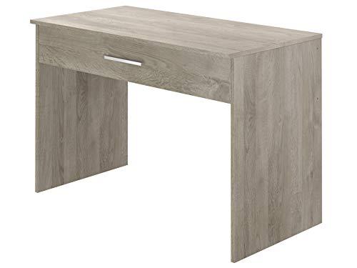 Movian - Bureau 1 tiroir Idre Modern, 56 x 110 x 73, Effet Chêne