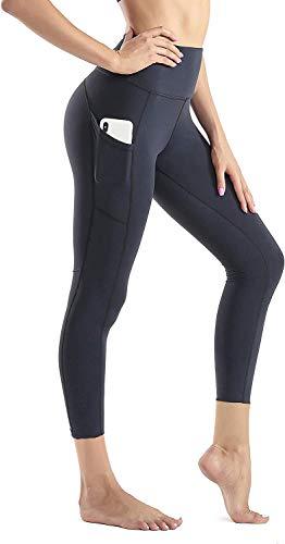 Wirezoll Sport Damen Leggings, Lange Blickdicht Yoga Hose Sporthose Fitnesshose mit Taschen (Hose...