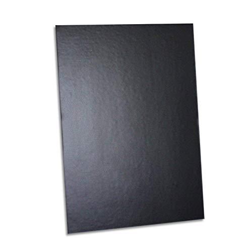 3er Set DIN A4 Ferrofolie selbstklebend Magstick® I Eisenhaltige Folien roh unbeschichtet, diy I Flexibler Haftgrund für Magnete I mag_004