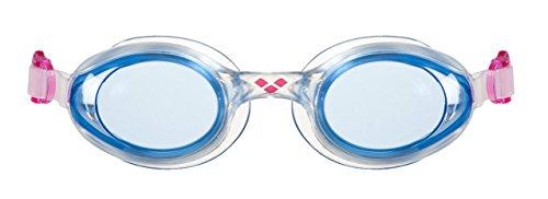 ARENA Sprint Goggles, Adultos Unisex, Blue-Clear-Pink, TU
