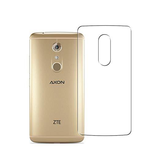 Vaxson 2 Unidades Protector de pantalla Posterior, compatible con ZTE AXON 7 AXON7 [No Vidrio Templado] TPU Película Protectora Espalda Skin Cover