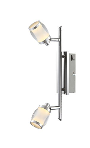 Globo 56549–2Colorado Deckenleuchte Lampe, Metall, chrom