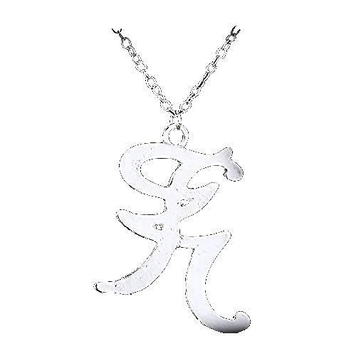 PPQKKYD Collar Instrumento Musical Mortal, Ciudad de Huesos y Huesos, Runa de Poder de ángel Retro, Colgante de Cazador de Sombras para Hombres y Mujeres