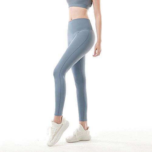 Mujer Compression Leggings Cintura Alta,Nuevos Pantalones de Yoga de Nalgas de Cintura Alta Desnudos de una pieza-YJ010_S #,Push Up Mujer Mallas Pantalones