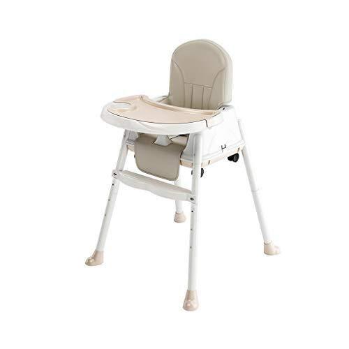 ALXLX baby hoge stoel - converteerbare moderne kinderstoel met gordel en lade - verstelbare voeding hoge stoel voor baby/baby/baby/peuter